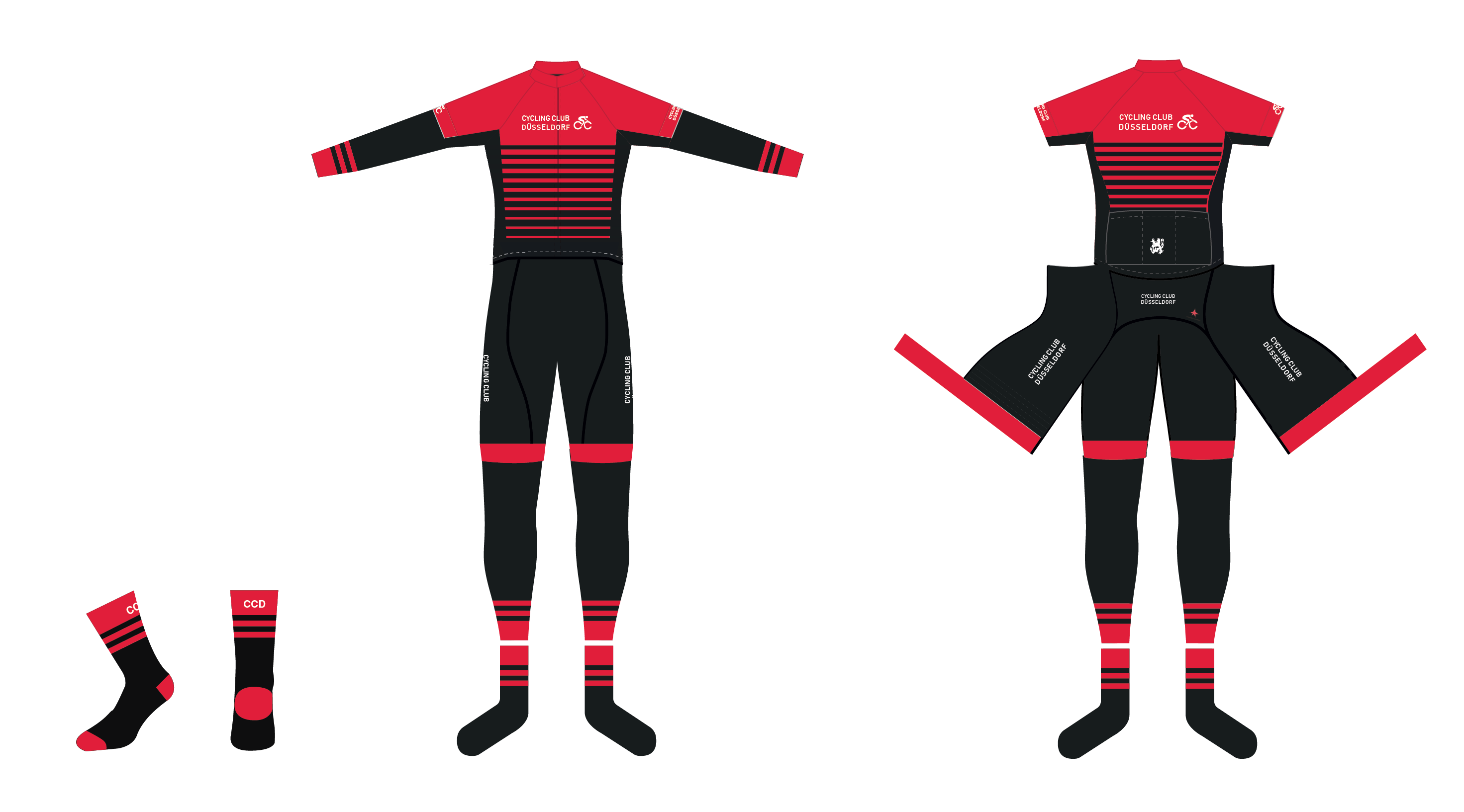 Cycling Club Düsseldorf Teamware Design 2018