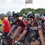 Start zum Reinhold Boehm Gedächtnisrennen: (v.l.n.re.) Alexej Zavailov (CCD), Alexander Fiedler (CCD), Christian Konopka (Team Rotrunner)