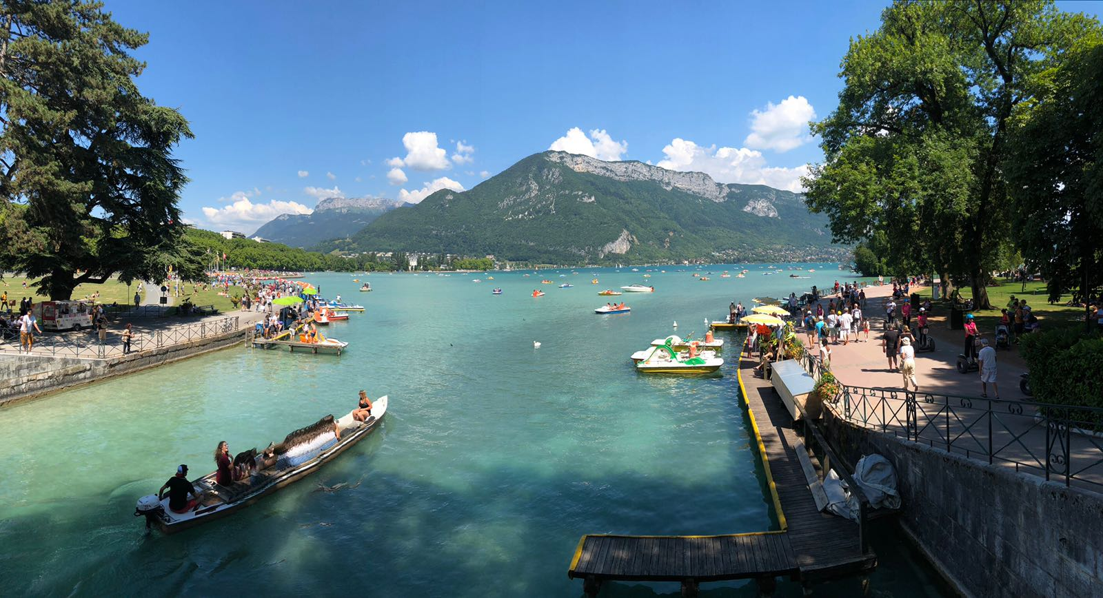 L'Etape du Tour 2018 am Lac d'Annecy: Vielleicht einfach lieber Schwimmen gehen?