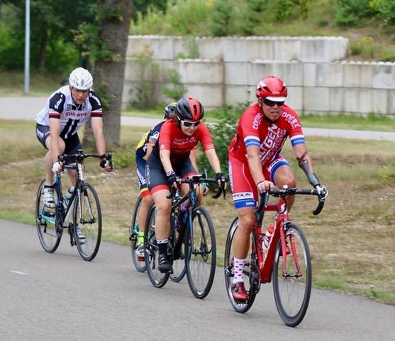 Melanie Walterscheid-Müller, Cycling Club Düsseldorf, siegte in der Kategorie Damen