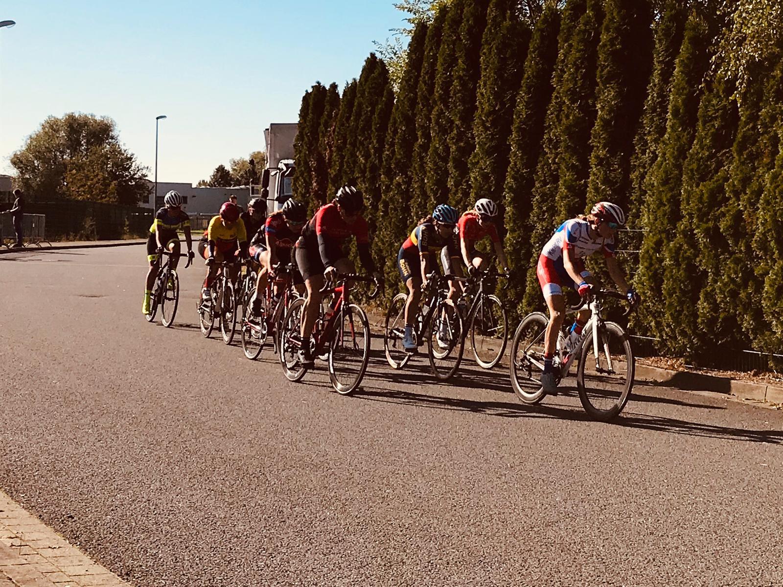 Sarah-Jane Fabry erfolgreich beim Radrennen in Melle