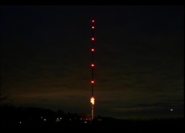 Langenberger Sender beim CCD Nightride
